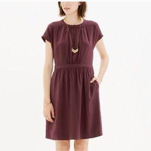 Cute Madewell 100% Silk Dress Size 8